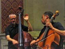Cellist Davide Amadio with the 1879 Richelme cello