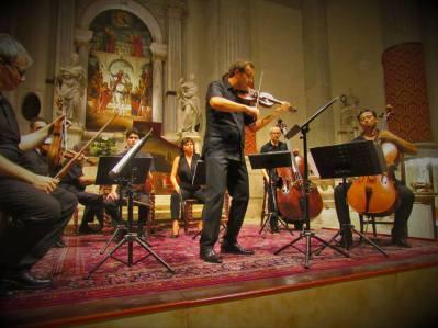 Interpreti Veneziani 22 july 2016 Thys de Castella collection Event - Pietro Talamini Wagner wellengeige 1750
