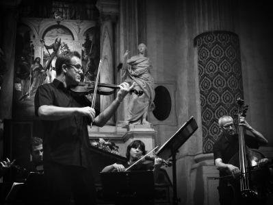 Interpreti Veneziani with the Thys de Castella Pietro Talamini at the 1663 Ruggeri violin
