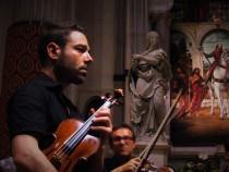 violinist N. Granillo with the E. Guerra 1924 violin