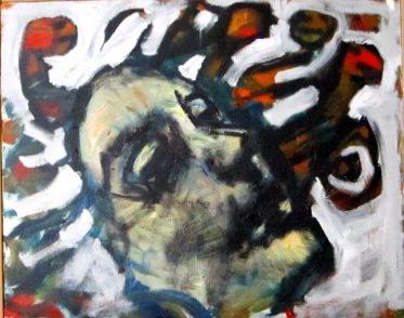 Medusa cm40x50 olio su tela 2010