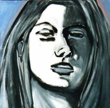 Respiro olio su tela 40 x 40 2010